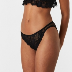 Lonely Lydia Tri Brief - Black