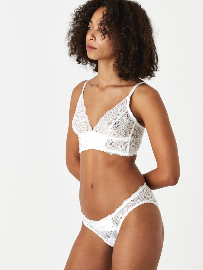 Lonely Lulu Patsy Tri Brief - Ivory (Image 1)
