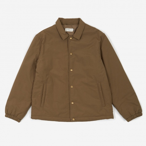 Insulated Grounds Jacket - Dusty Brown