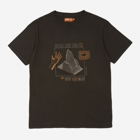Space And Time T-Shirt - Washed Black