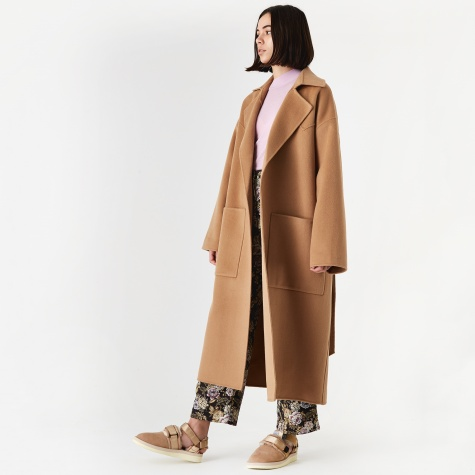 Alamo Wool Coat - Camel