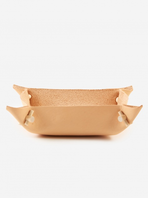 Vati Leather Bowl - Small