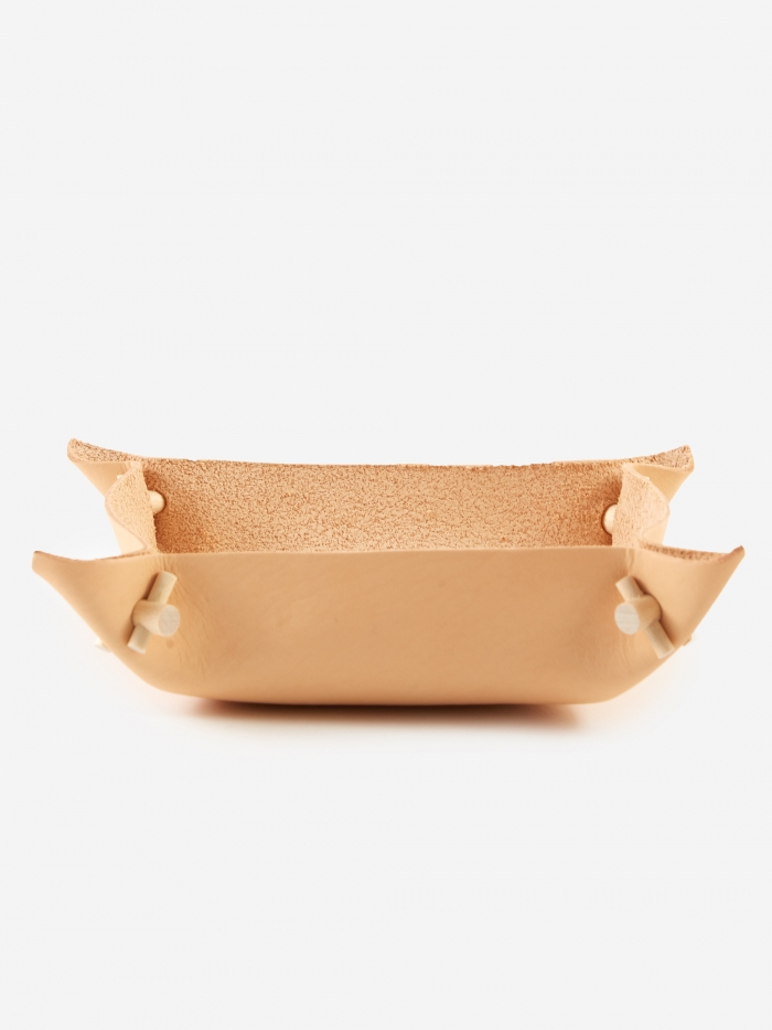 Verso Vati Leather Bowl - Small (Image 1)