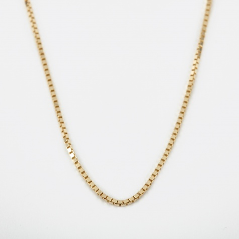 1.3 Venetian Chain 60cm - 9k Yellow Gold
