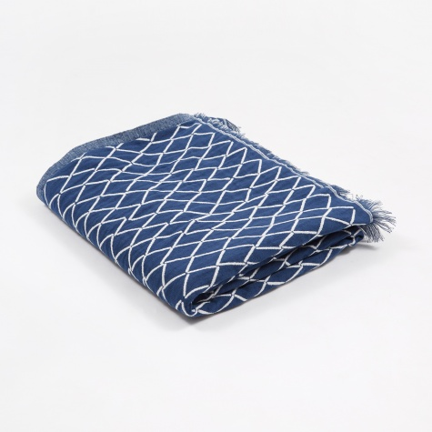 Eskimo Blanket / Tablecloth - Blueberry