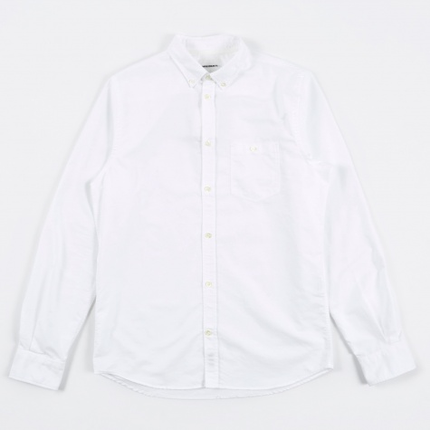Anton Oxford Shirt - White
