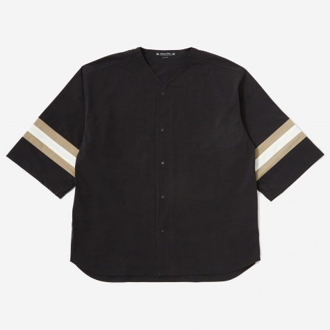 XXXL Baseball Shirt - Black