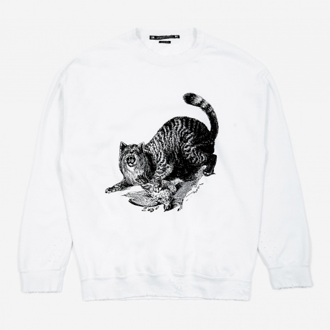 WILDCAT Pilling Sweatshirt - White