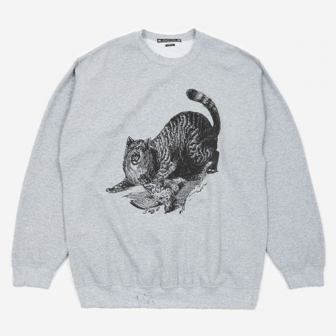 WILDCAT Pilling Sweatshirt - Ash Grey