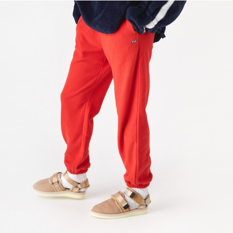 Cuffed Track Pant - Red
