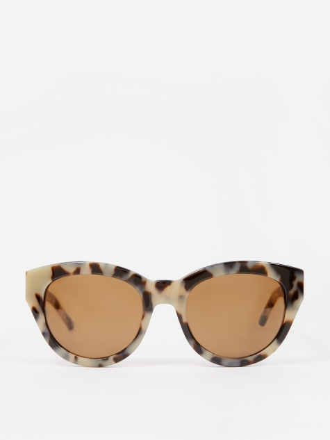 Agneta Sunglasses - Blonde Tortoise