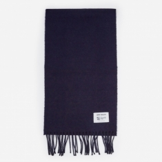 Norse Projects Norse x Johnstons Scarf - Dark Navy