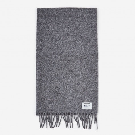 Norse x Johnstons Scarf - Magnet Grey