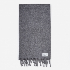 Norse Projects Norse x Johnstons Scarf - Magnet Grey