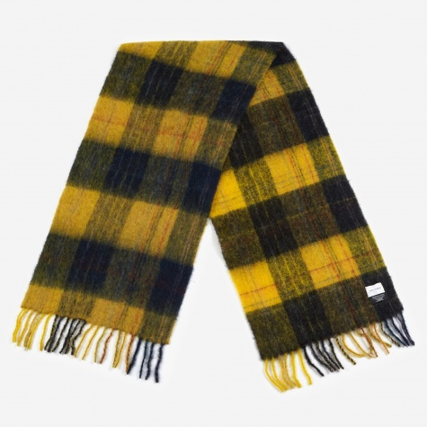 Fresia Check Scarf - Yellow/Black