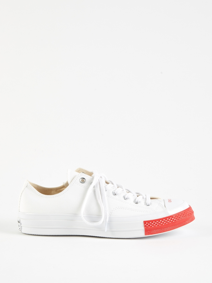 Converse x Undercover Chuck Taylor All Star 70 Ox - White/Red (Image 1)