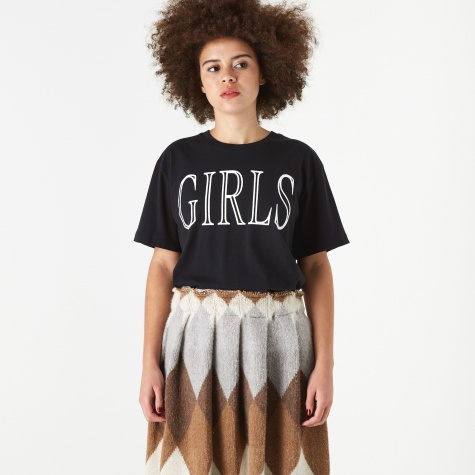 Girls T-Shirt - Black