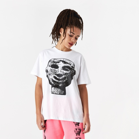 Stone Head T-Shirt - White