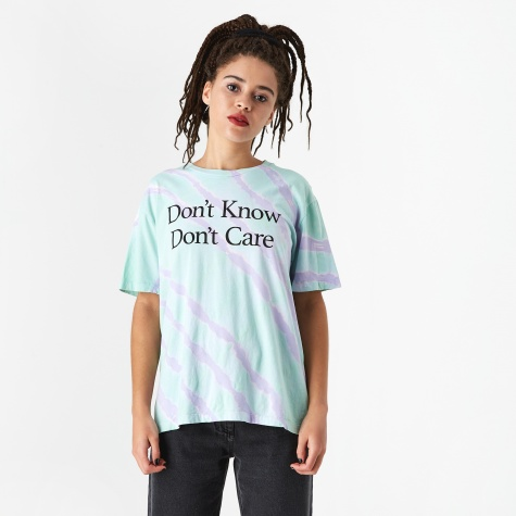 Don't Know T-Shirt - Tie Dye