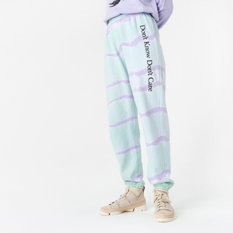 Dont Know Track Pant - Tie Dye
