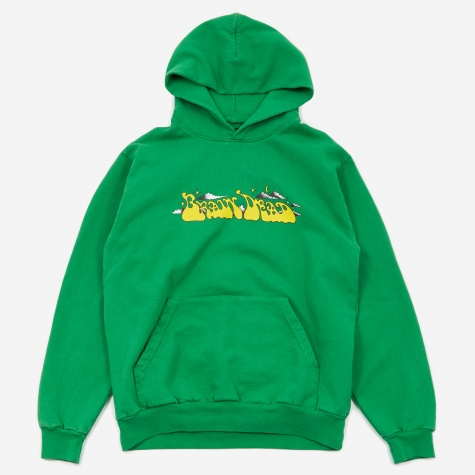 Free Jazz Hooded Sweatshirt - Kelly Green