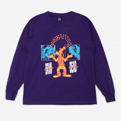 Human Being Longsleeve T-Shirt - Purple