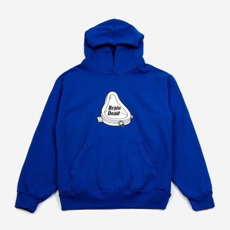 Urinal Hooded Sweatshirt - Royal Blue