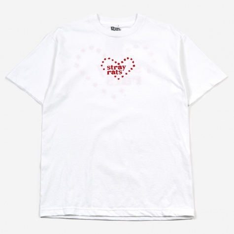 Heart Star T-Shirt - White