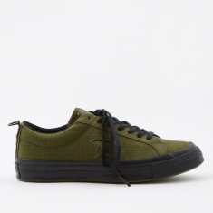 Converse x Carhartt WIP One Star - Herbal/Medium Olive/Black