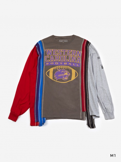 7 Cuts Longsleeve College T-Shirt Medium - Assorted