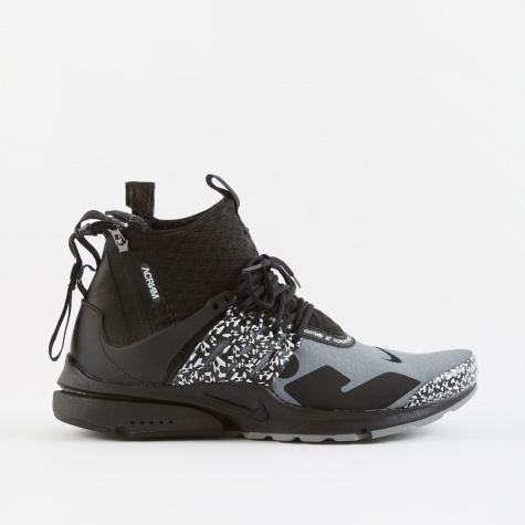 x ACRONYM Air Presto Mid Utility - Cool Grey/Black