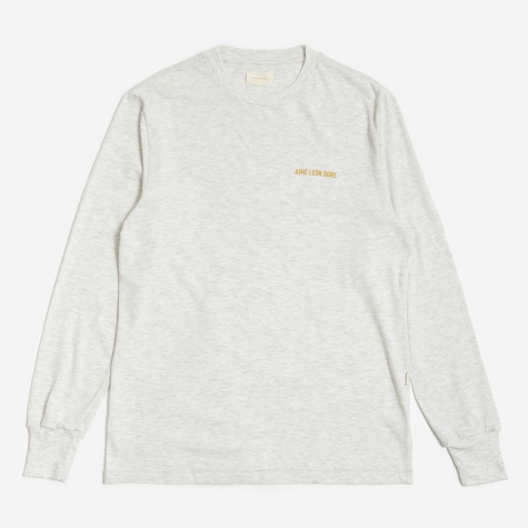 Longsleeve Logo T-Shirt - Grey Mix