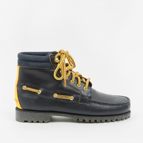 x Timberland 7 Eye Lug Sole Boot - Navy