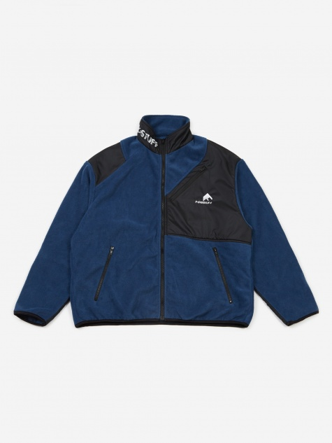 Light F/Z Fleece Jacket - Navy/Black