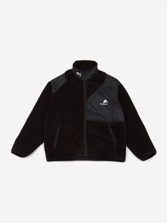 Flagstuff Light F/Z Fleece Jacket - Black/Black (Image 1)