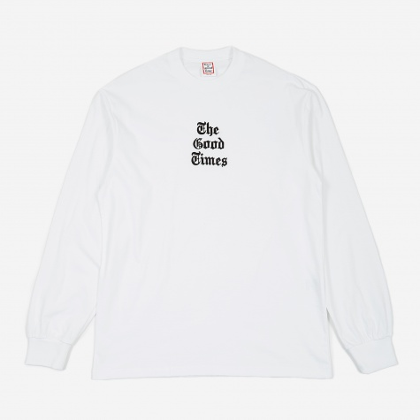 Good Times Longsleeve T-Shirt - White