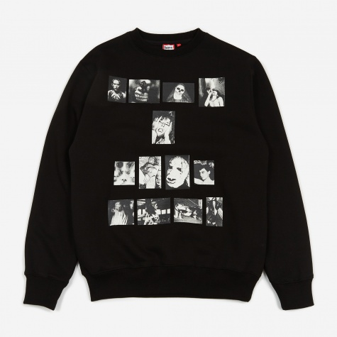 Weirdo Crewneck Sweatshirt - Black