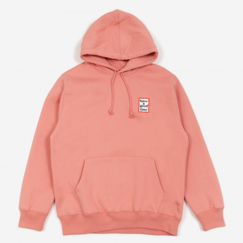 Mini Frame Hooded Sweatshirt - Indie Pink