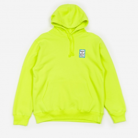 Mini Frame Hooded Sweatshirt - Neon Green