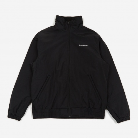Side Logo Fleece Lined Jacket - Black