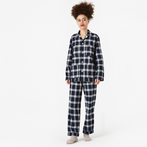 Have A Good Night Pyjama Set - Black/White