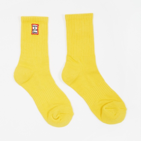 Frame Socks - Yellow