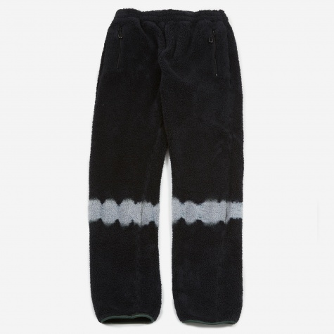 Fleece Track Pant - Black Tie Dye