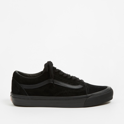Vault OG Old Skool LX - (Leather/Suede) Black