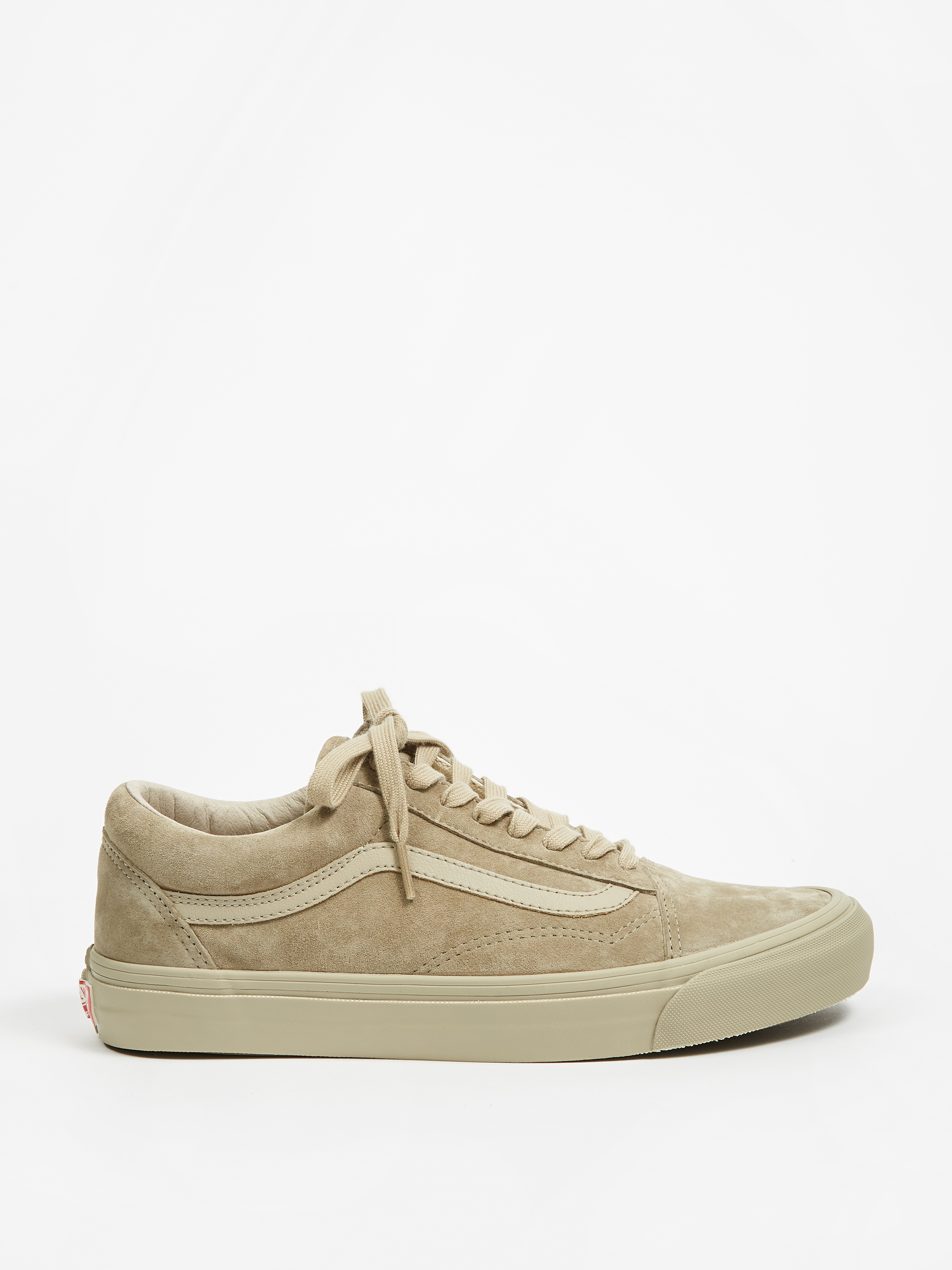 97eb5fb7d8d9bf Vans Vault OG Old Skool LX - (Leather Suede) Plaze Taupe