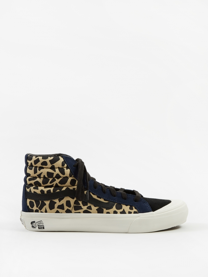 Vans Vault x Taka Hayashi Style 138 LX - (Suede/Canvas) Cheetah (Image 1)
