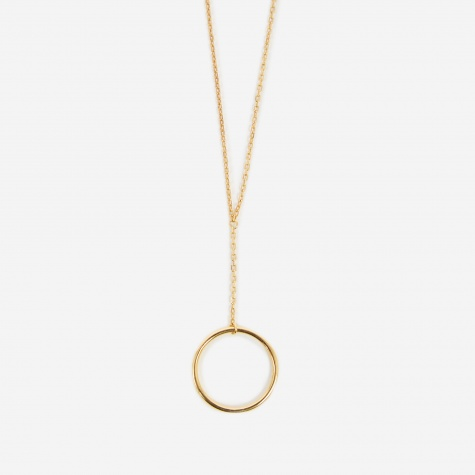 Norma Mini Necklace - High Polished Gold