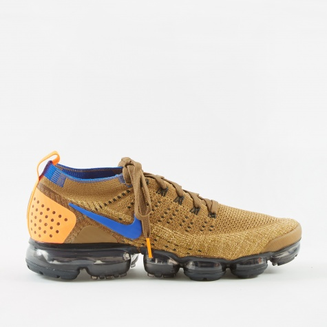 Air Vapomax Flyknit 2 - Golden Beige/Racer Blue-Club Gold