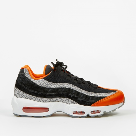 Air Max 95 - Black/Black-Granite-Safety Orange
