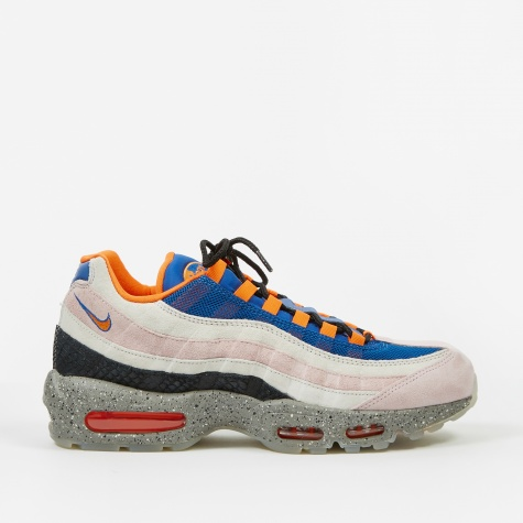Air Max 95 - Champagne/Safety Orange-Sport Royal